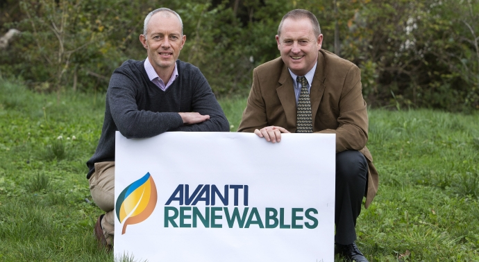 AvantiRenewables co-directors, Mark Duncan, left, and Neil Murphy